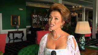 Jane Seymour visits Grand Hotel for Somewhere In Time Weekend