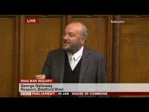 Iraq war inquiry cover-up | George Galloway | Parliament 29/01/15