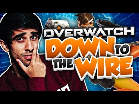 DOWN TO THE WIRE! - OVERWATCH COMPETITIVE GAMEPLAY