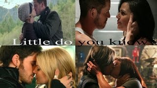 Once upon a time//couples - little do you know