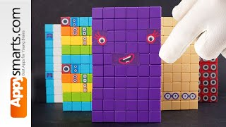Making Numberblock Number... Can you Count and Guess? (a 'satisfying' crafts tutorial ASMR style!)