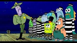 Спанч Боб ломает вора в законе в мультфильме...