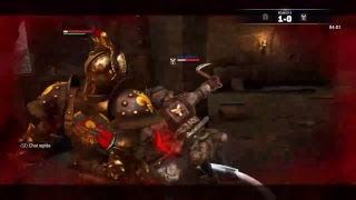 For Honor Learn with burning Lawbringer