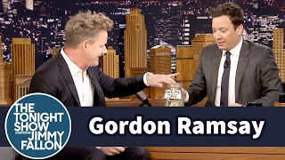 Jimmy Interviews Gordon Ramsay with a Swear Jar