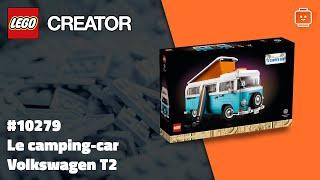 LEGO Creator 10279 Le camping car Volkswagen T2