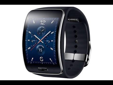 Обзор и распаковка умных часов Samsung Gear S (SM-R750)