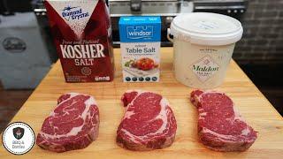 What Salt to Use on a Steak? Sea Salt vs  Kosher Salt vs  Table Salt