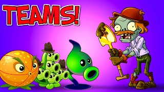 Plants vs. Zombies 2 EXCAVATOR ZOMBIE vs Team Plants - Who is The Winner? PVZ 2