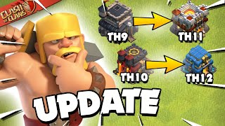 Big Changes for Clash of Clans in the New Update!