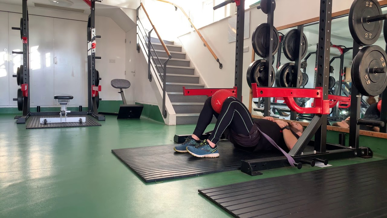 Hip Thrust with Adductor