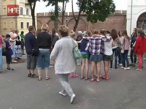 В Великом Новгороде проходит визит школьников из Финляндии