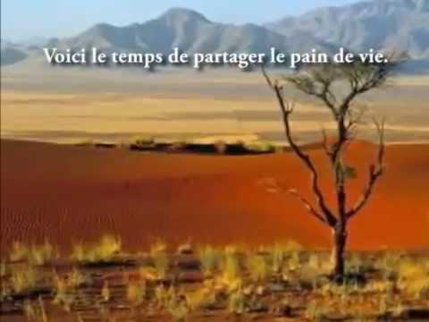 Chant du carême : Au désert avec toi Jésus Christ (avec lyrics)