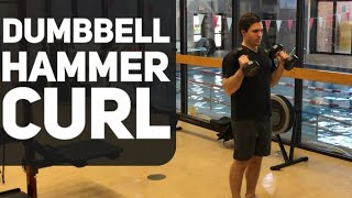Dumbbell Hammer Curls | Bicep Curl Alternative
