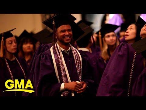 Scott Davidson - Man Earns Nursing Degree After Starting At The University As A Janitor