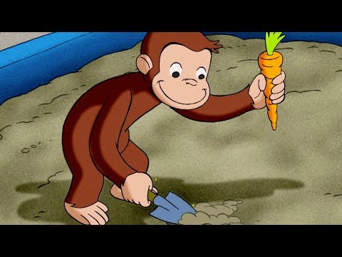 Curious George 🐵The Magic Garden 🐵Kids Cartoon 🐵Kids Movies | Cartoons for Kids