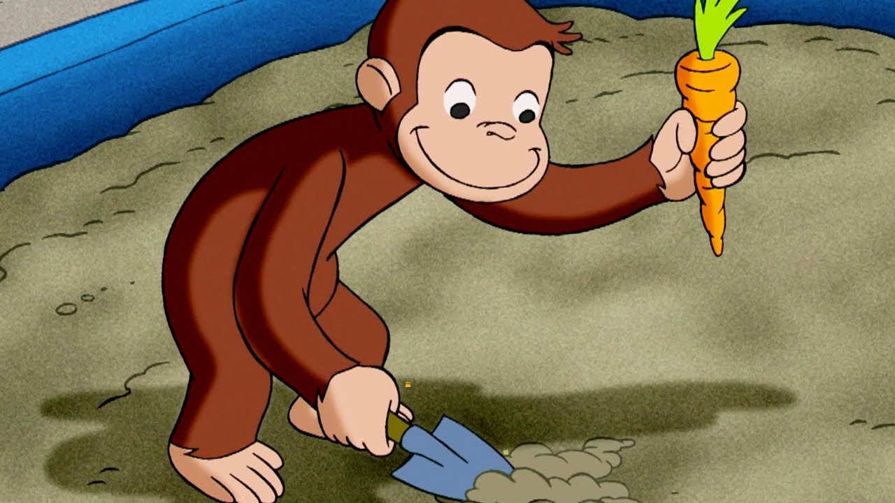 Curious George - The Magic Garden