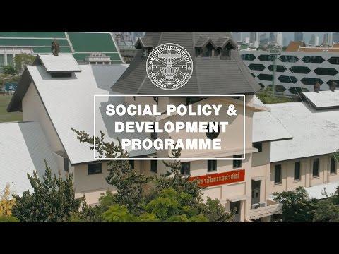 Social Policy and Development - Thammasat University