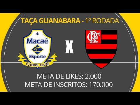 Macaé X Flamengo Ao Vivo Com Luiz Penido Taça Guanabara 180120