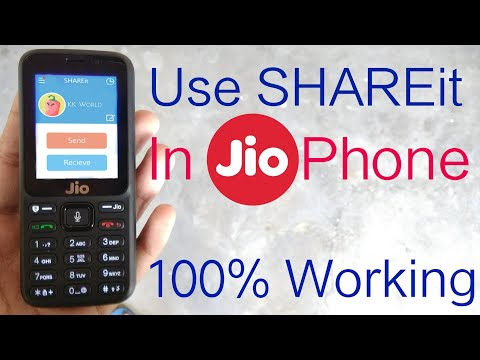 How To Use SHAREit In JioPhone | Send Or Share Files To Jio Phone |New Tips And Tricks | In Hindi