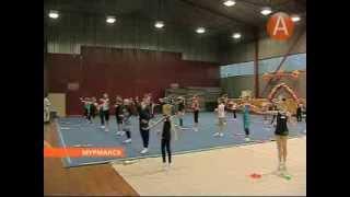Художественная гимнастика в Мурманской области