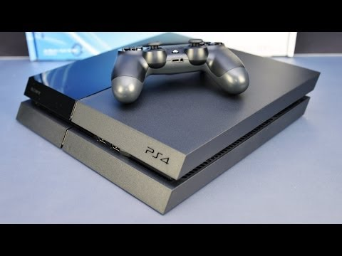 Sony PS4 Unboxing