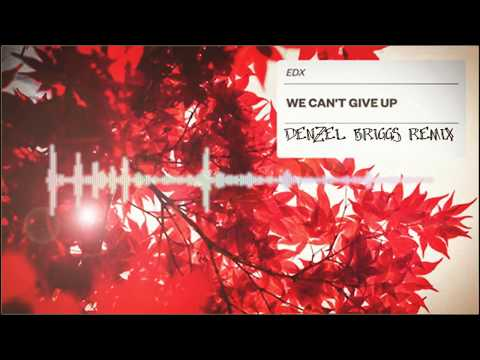 EDX - We Can't Give Up (Denzel Briggs Remix)