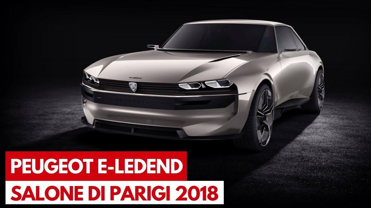 Peugeot E Legend Una Futuristica Concept Car Del Leone Al Salone