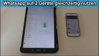 Whatsapp auf Tablet und Handy gleichzeitig nutzen – Anleitung / Whatsapp Web Browser