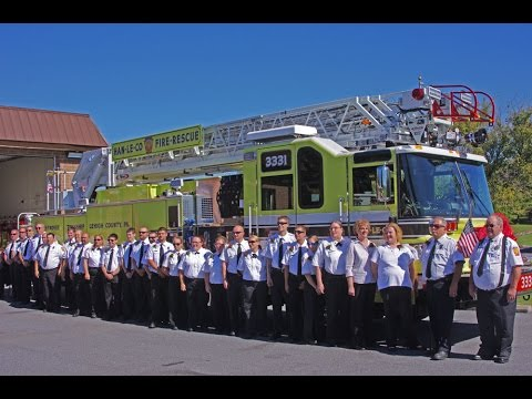 Han-Le-Co Ladder 33-31 official housing & dedication | 10/10/15