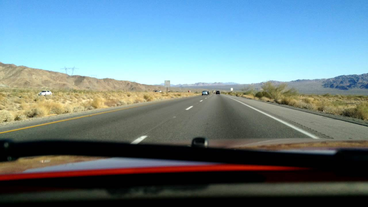 Time Lapse Drive From Los Angeles To Phoenix Youtube