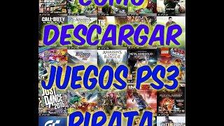 TUTORIAL COMO DESCARGAR  JUEGOS PARA PS3 PIRATA Y JUGAR DESDE DISCO DURO EXTERNO