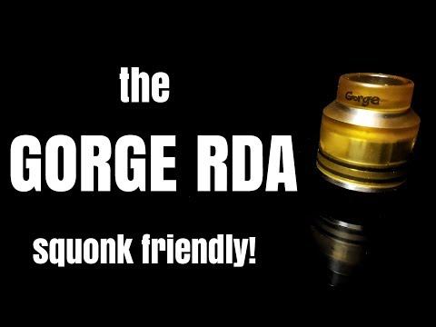The GORGE RDA from Advken - cheap 24mm single coil action for cloudies