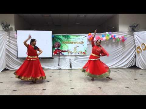 Ghanashyama vrindaranyam semi-classical AIIMS onam celebrations 2014