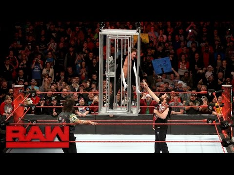 Thumbnail: Chris Jericho gets locked in a shark cage: Raw, Dec. 19, 2016