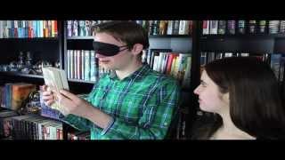 BLINDFOLDED BOOK CHALLENGE W/ SASHA ALSBERG Thumbnail