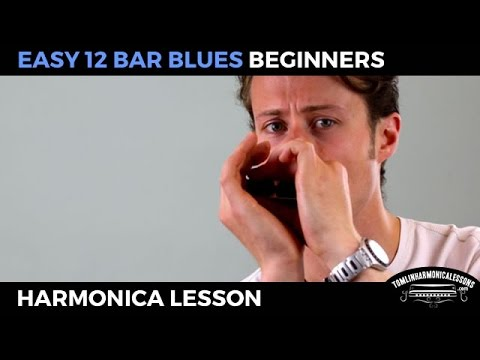 Harmonica blues harmonica tabs in c : Easy 12 bar blues - Beginner Blues C Harmonica Lesson + free harp ...