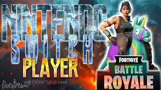 Fortnite Battle Royale Nintendo Switch // Subscriber/Member Sunday!! // USE CODE: PROMETHEUSKANE