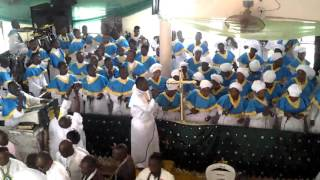 the premier choir ccc army barrack mokola ib 2015 harvest