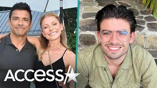 Kelly Ripa & Mark Consuelos' Son Reacts To Parents' Steamy Pics