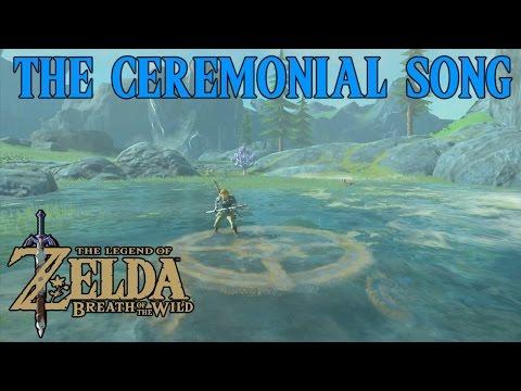 Zelda Breath Of The Wild Playthrough: The Ceremonial Song, Dagah Keek Shrine
