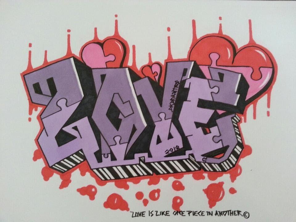 Love Graffiti Letters | www.pixshark.com - Images ...