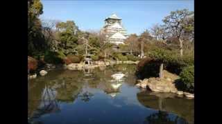 Winter at Osaka Castle [images] 冬の大阪城