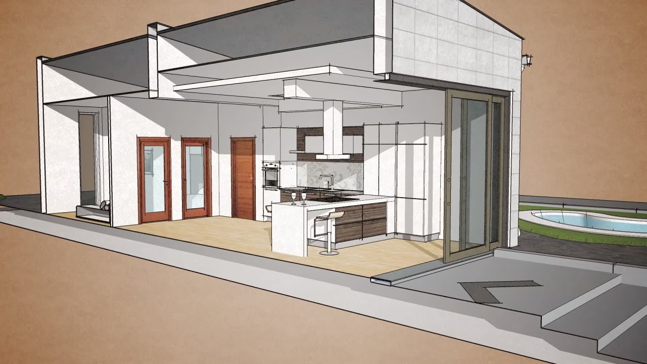 SKETCHUP & LUMION 4 0 Visualization from 2014 on Behance