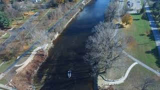 Stroll down the Tittabawassee River in Midland