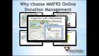 MatchMaker FundRaising Software Online Donation Management