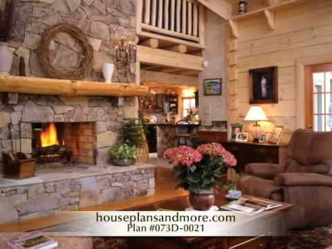 Log cabin homes video 1 house plans and more youtube for Stili di log cabin