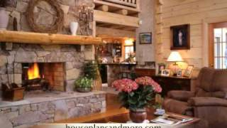 Log Cabin Homes Video 1  | House Plans And More