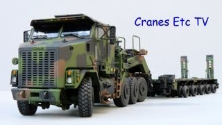 Sword Oshkosh HET + M1000 Trailer by Cranes Etc TV