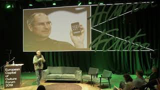 """Paul Bourne """"Creative thinking and creative doing""""   ECOC Forum 2019"""