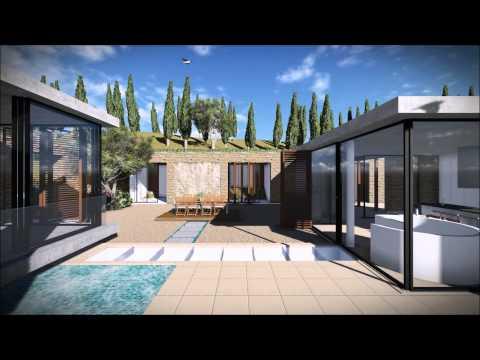 ZANA+ ( Zana Plus ) Villa in Lefkada 3D Visualization Animation